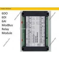 6 IO 6 AI Module Relay 220V 10A  RS485 Modbus board