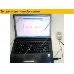Humidity Temperature Module 1AI DHT11 12bit RS485 Modbus