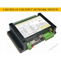 NT6800WNR - 6 DO RELAY 8 DI INPUT NETWORK SWITCH