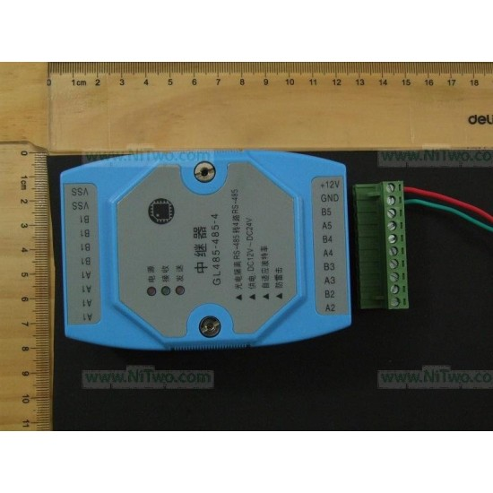 RS485 to RS485 HUB 1 to 4 RS485 industrial grade Repeater optocoupler isolate